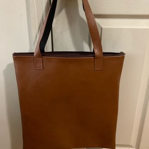 A leather bag from Thailand